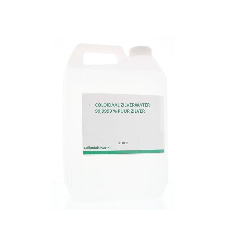 Colloidaal Zilver Water 40 PPM 5 liter
