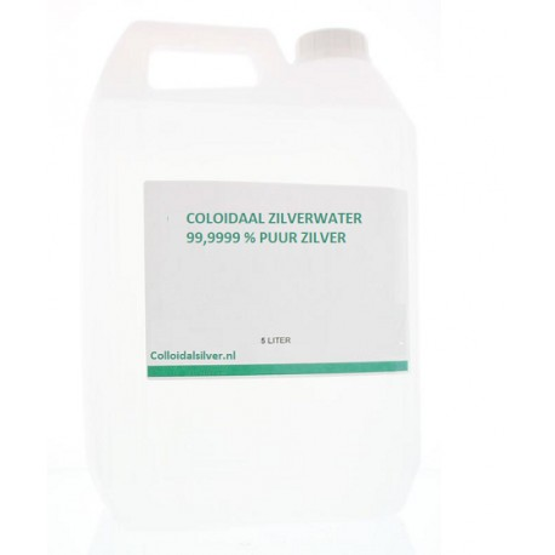 Colloidaal Zilver Water 50 PPM 5 liter