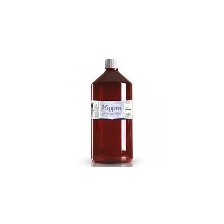 Colloidaal Zilver Water 25 PPM 3 liter