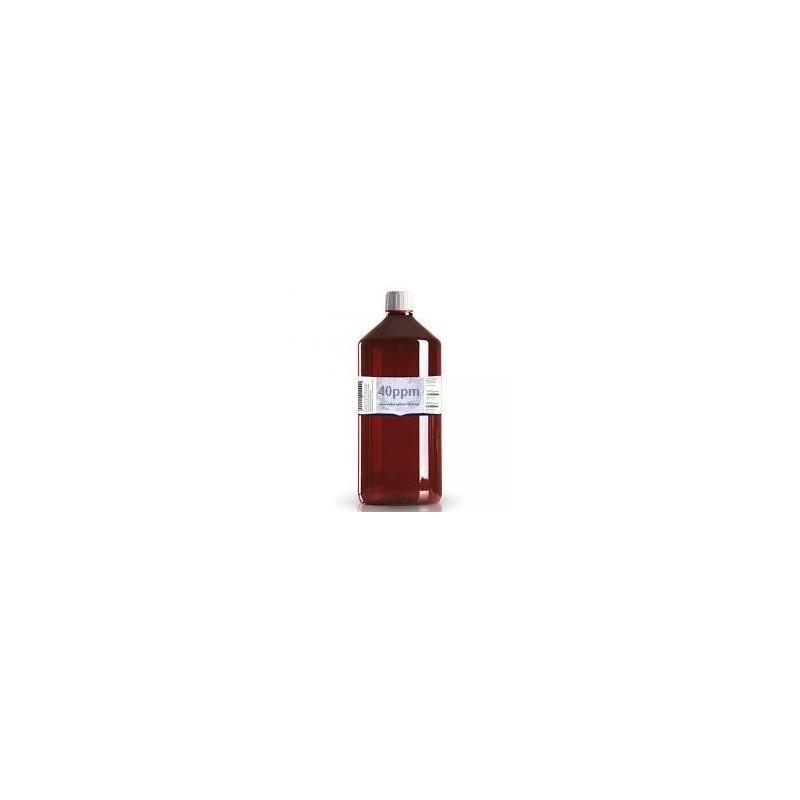 Colloidaal Zilver Water 40 PPM 1 liter