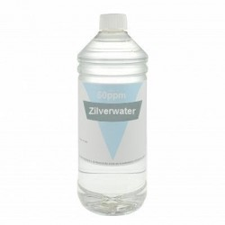 Colloidaal Zilver Water 50 PPM 1 liter
