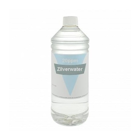Colloidaal Zilver Water 20 PPM 1 liter