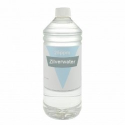 Colloidaal Zilver Water 25 PPM 1 liter