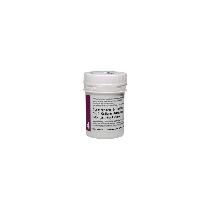 Celzouten nr 4 Adler Schüssler zouten Kalium chloride