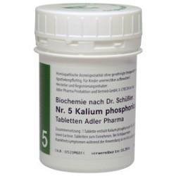 Celzouten nr 5 Adler Schüssler zouten Kalium Phosphoricum
