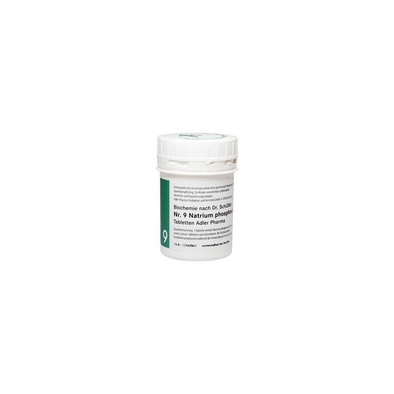 Celzouten nr 9 Adler Schussler zouten Natrium Phosphoricum