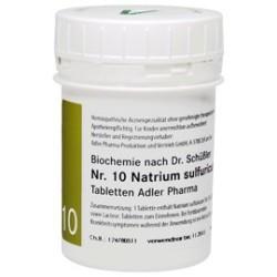 Celzouten nr 10 Adler Schussler zouten Natrium Sulfuricum