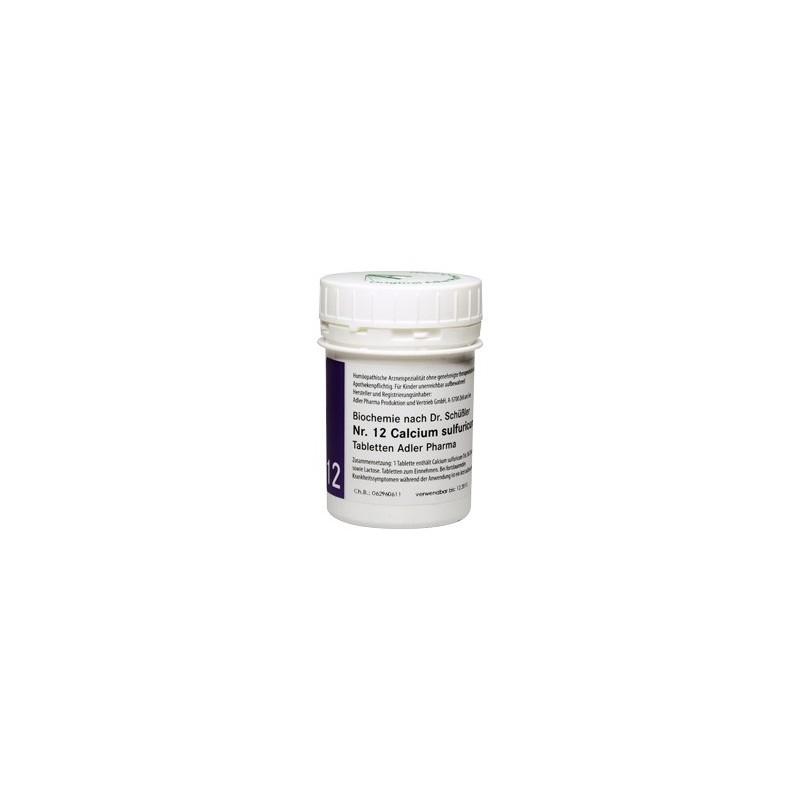 Celzouten nr 12 Adler Schussler zouten Calcium Sulfuricum