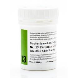 Celzouten nr 13 Adler Schussler zouten Kalium Arsenicosum