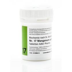 Celzouten nr 17 Adler Schussler zouten Manganum Sulfuricum