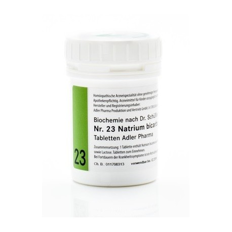 Celzouten nr 23 Adler Schussler zouten Natrium Bicarbonicum