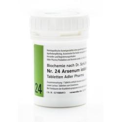 Celzouten nr 24 Adler Schussler zouten Arsenum Jodatum