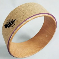 Yoga Wheel Kurk 32x13 cm cork