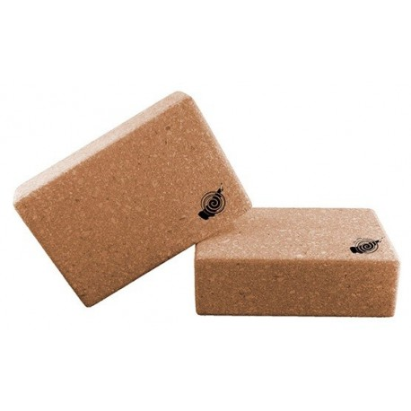 Yoga block cork kurk blok